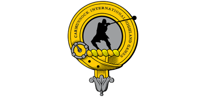 Carmunnock International Highland Games Logo